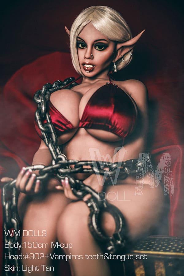 секс-кукла эльф с пышными формами