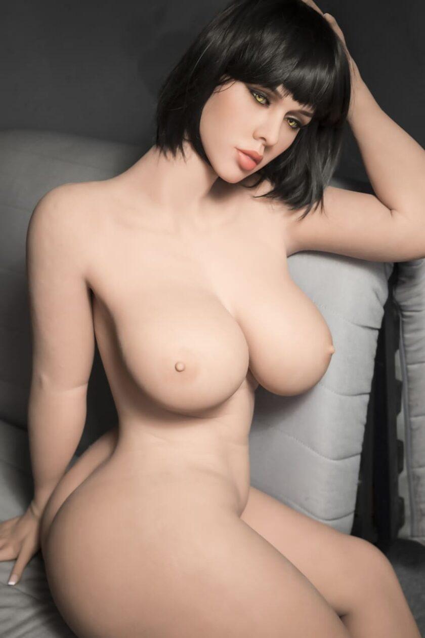 Реалистичная силиконовая кукла с большой грудью, вагиной, анусом