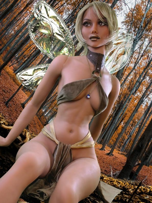 секс-кукла эльфийка