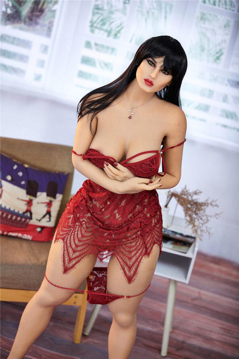 секс кукла горячая брюнетка