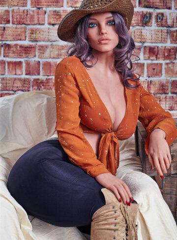 секс кукла с большой грудью женщина