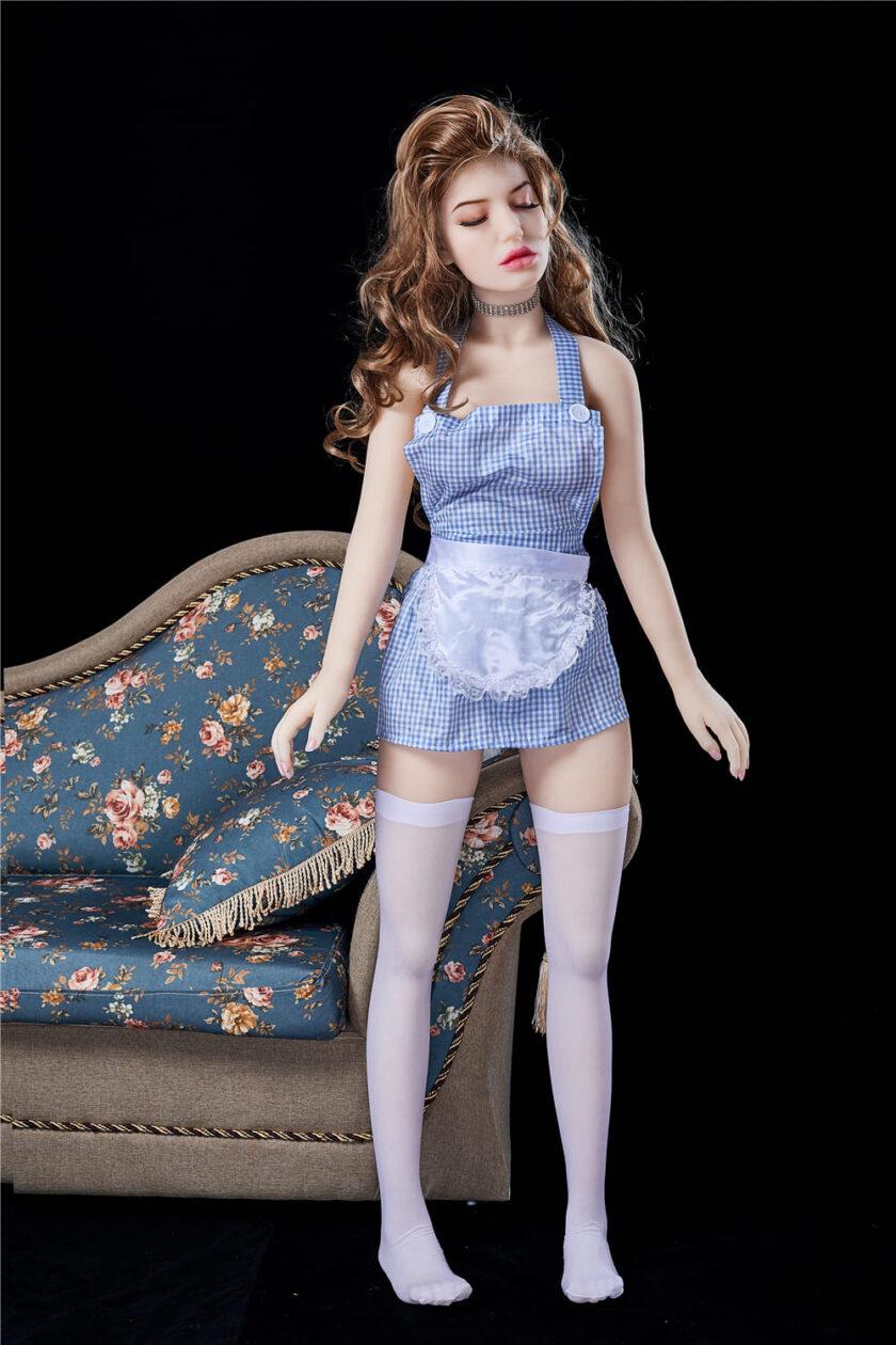 силиконовая кукла маленькая