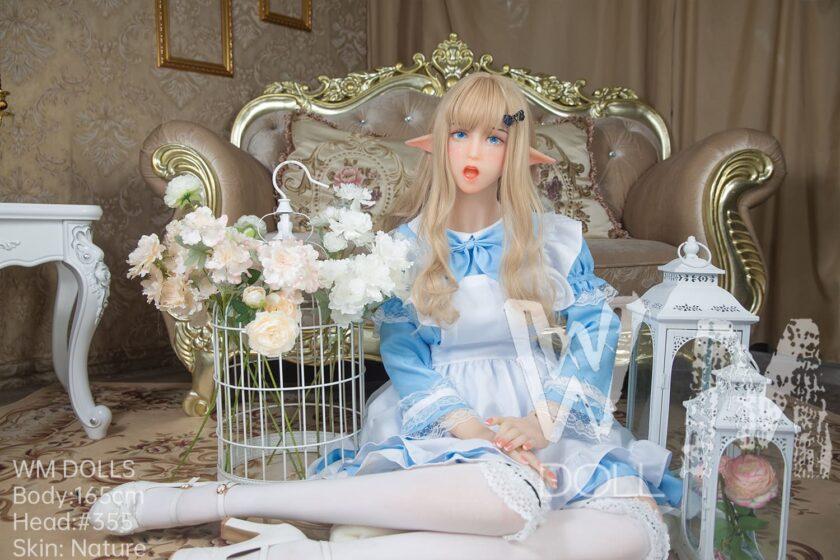 силиконовая кукла для секса эльф девочка