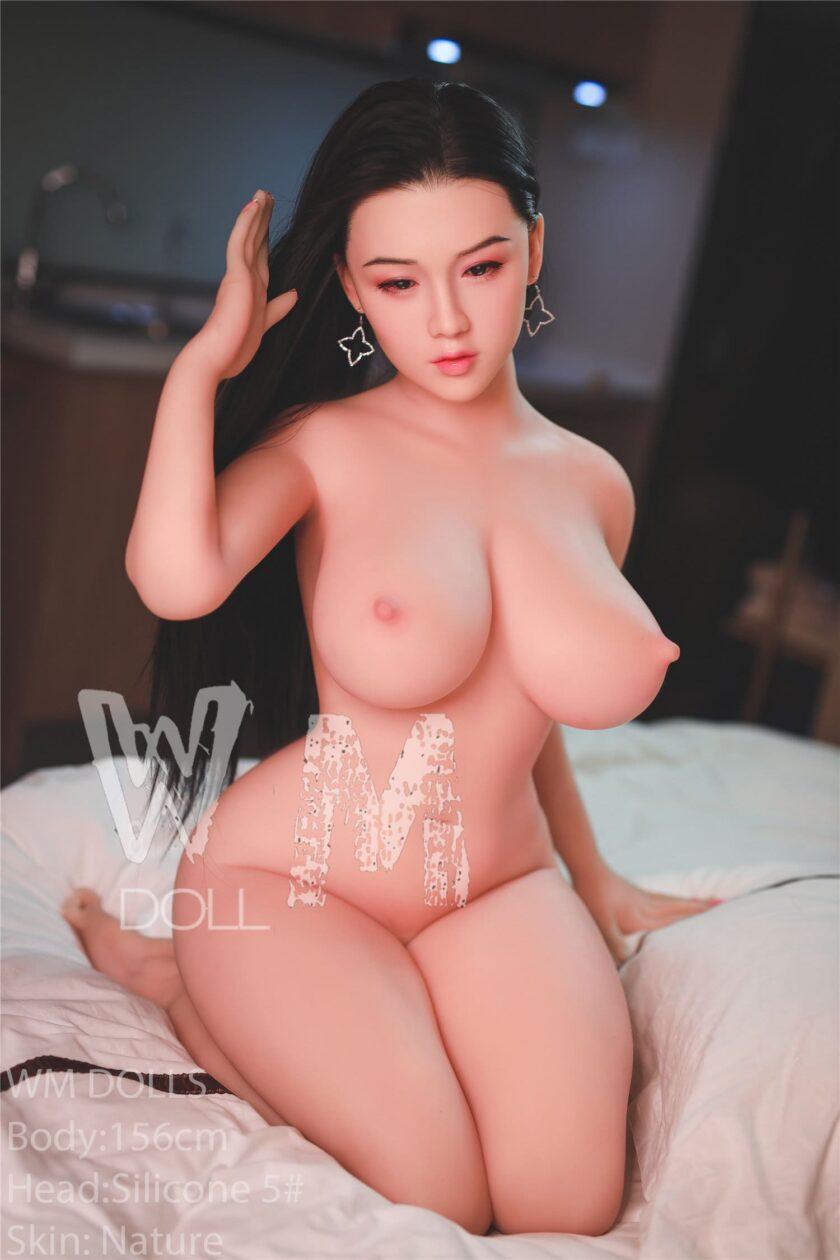 китаякая секс кукла с силиконовой головой