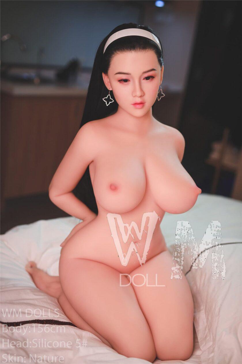 японская кукла TPE с силиконовой головой
