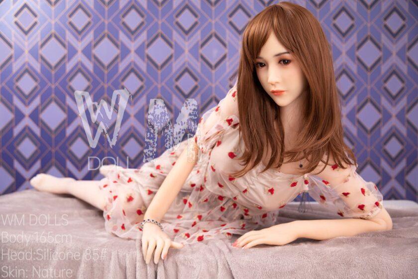 секс кукла силиконовая голова WM DOLL азиатка