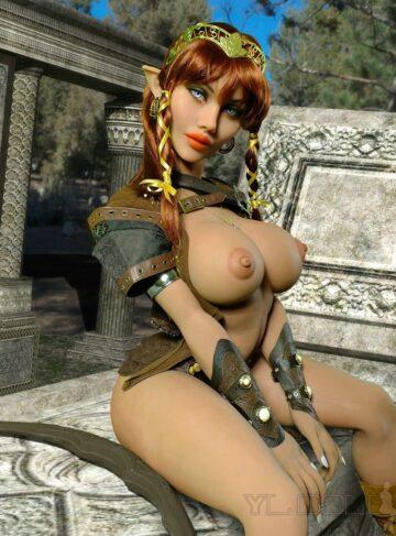 секс кукла эльф YL DOll #286