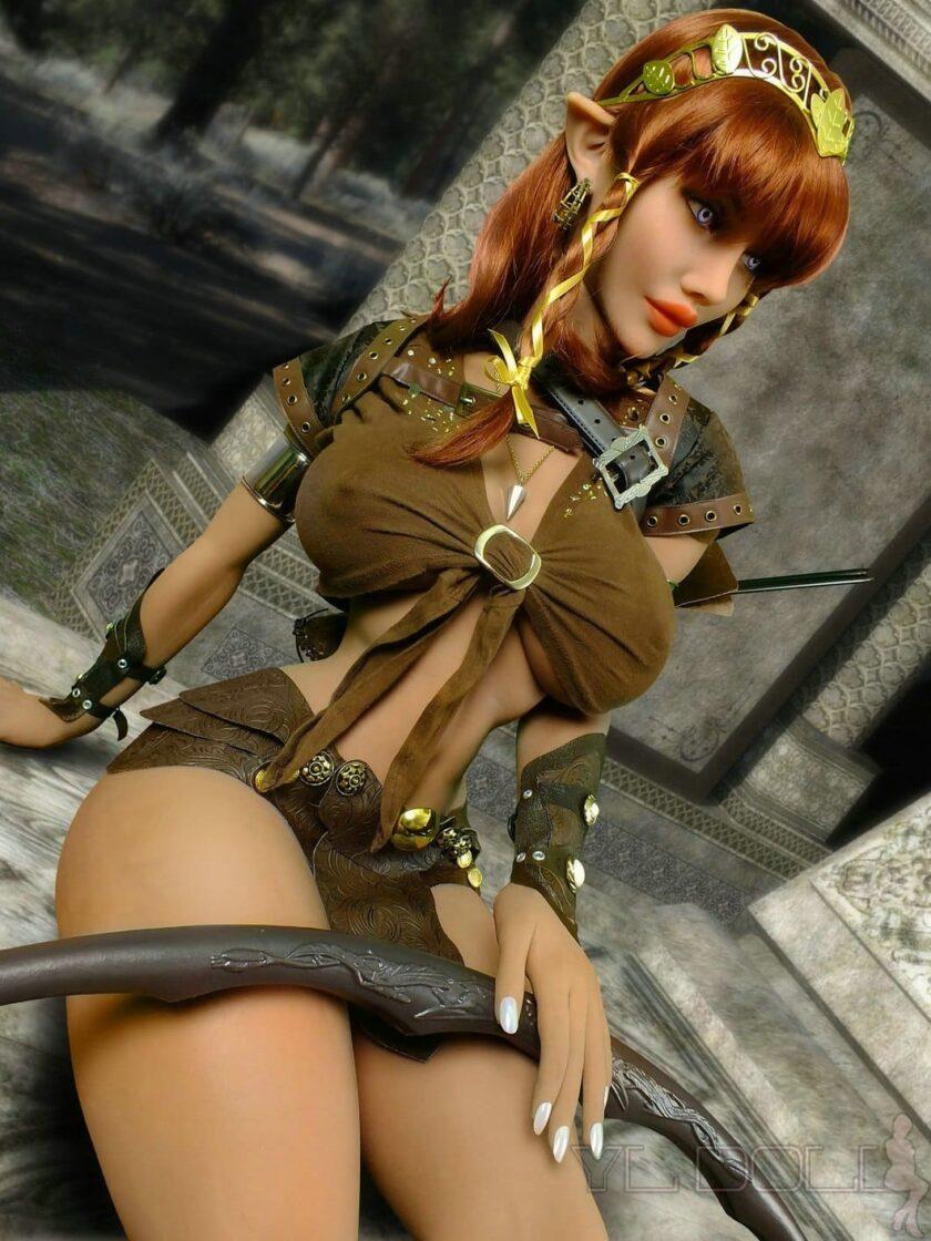 эльфийская секс кукла 148 см