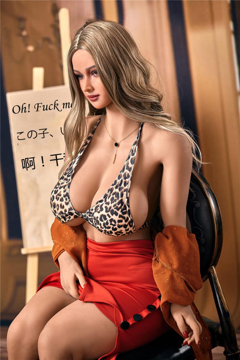 Большая силиконовая грудь секс шопа