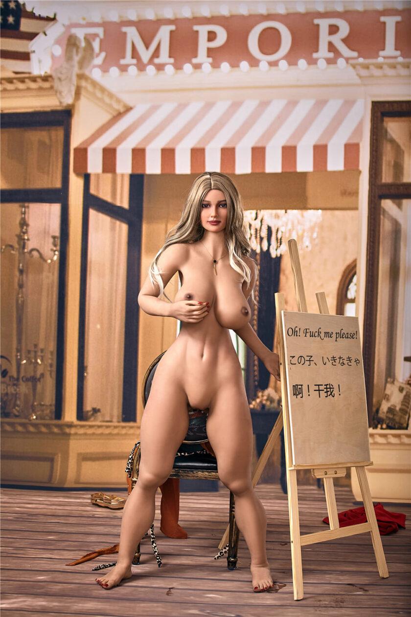 Голая секс кукла фото