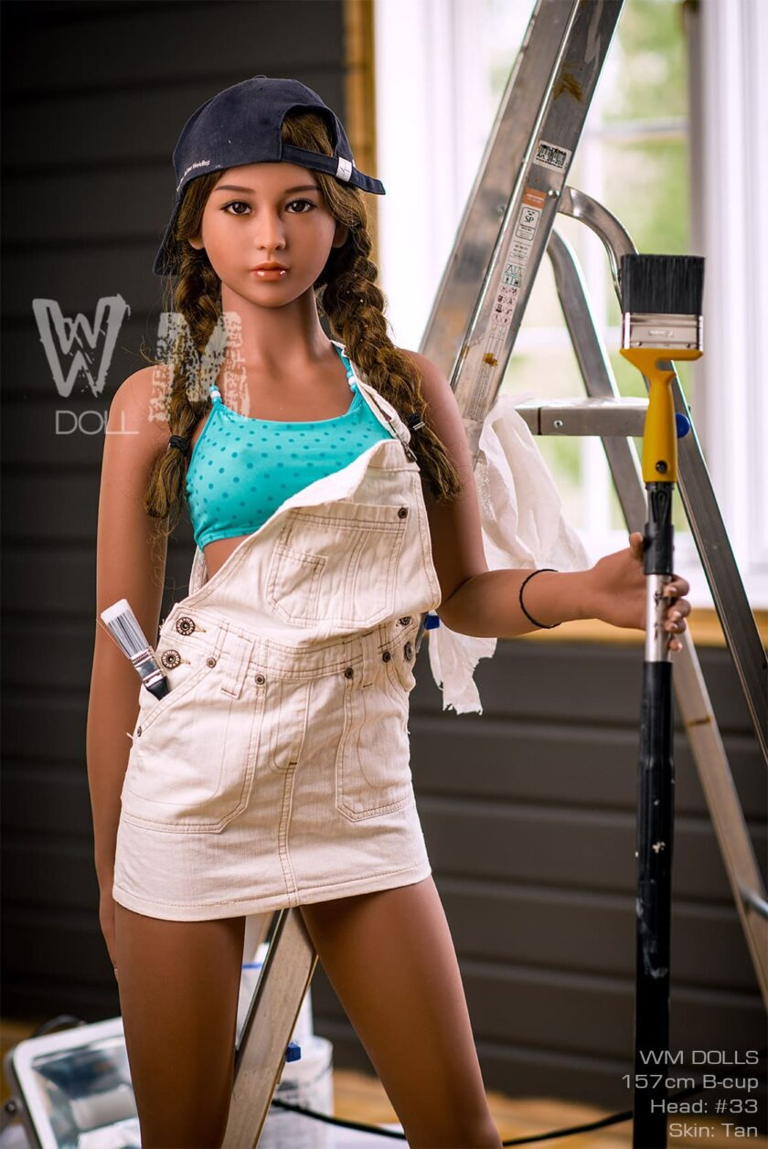 секс кукла миниатюрная студентка WM DOLL