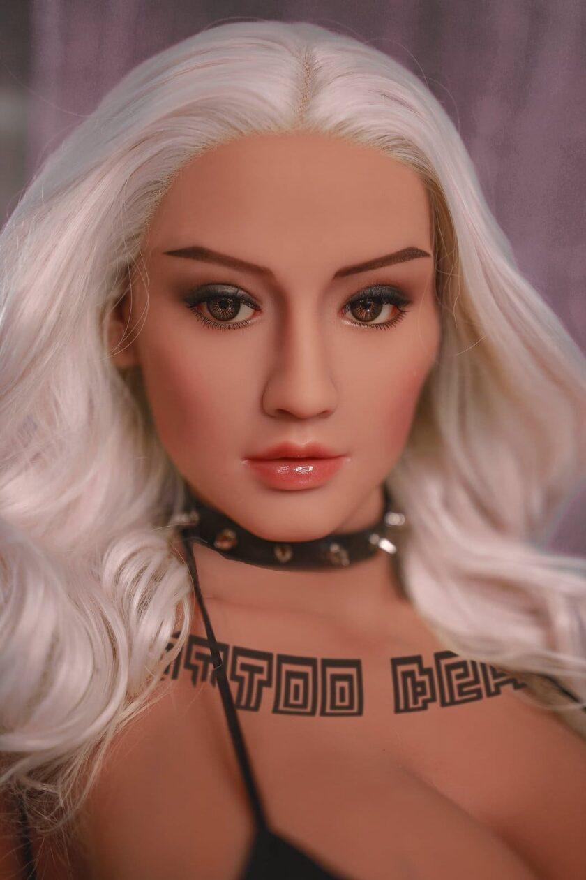 блондинка секс кукла реалистичная