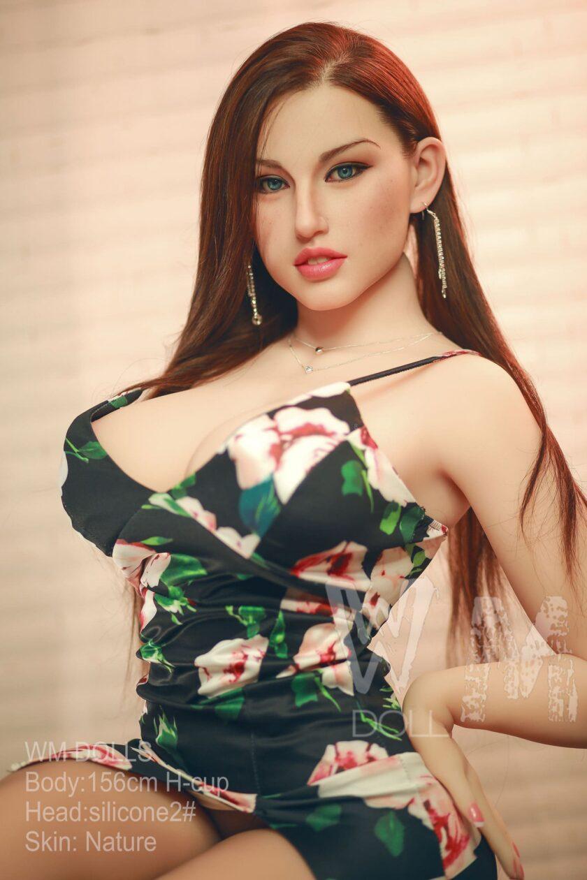 секс кукла с имплантами волос