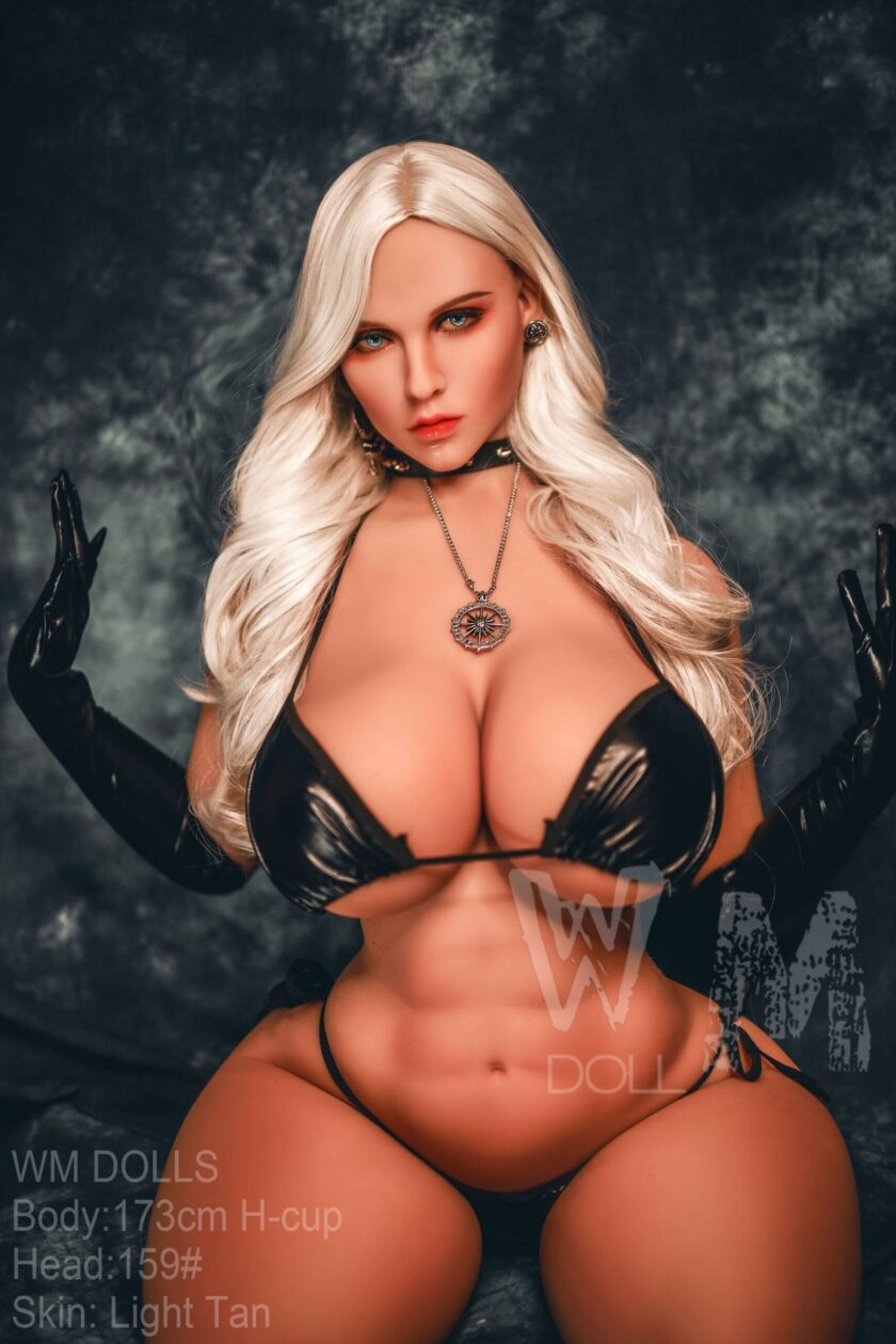 Пышногрудая секс кукла 173 см
