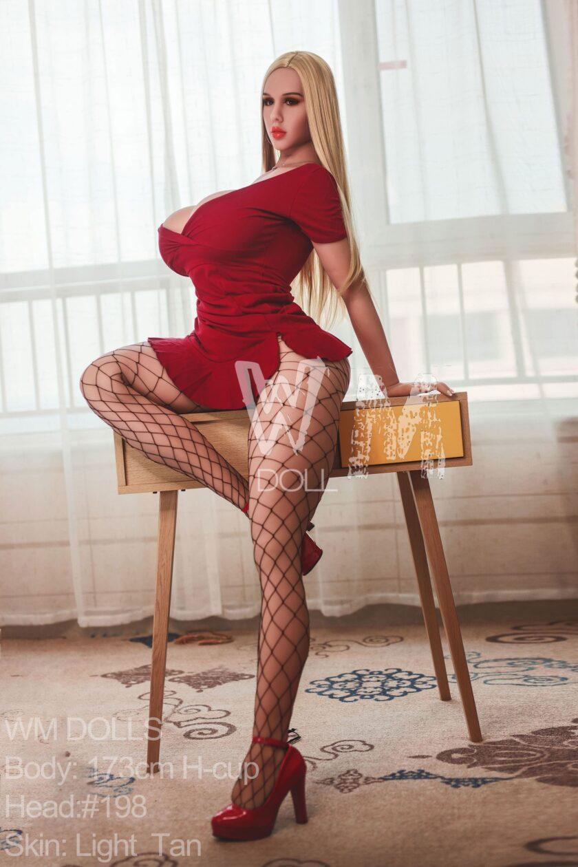 Секс кукла WM Dolls 173 см #head 198