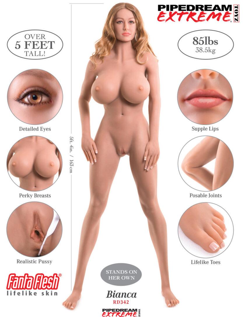 Купить секс куклу Pipedream Bianca в Украине