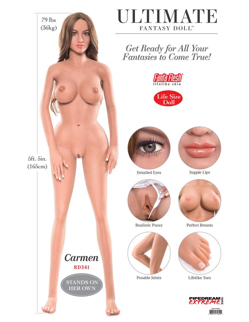 секс шоп кукла Pipedream