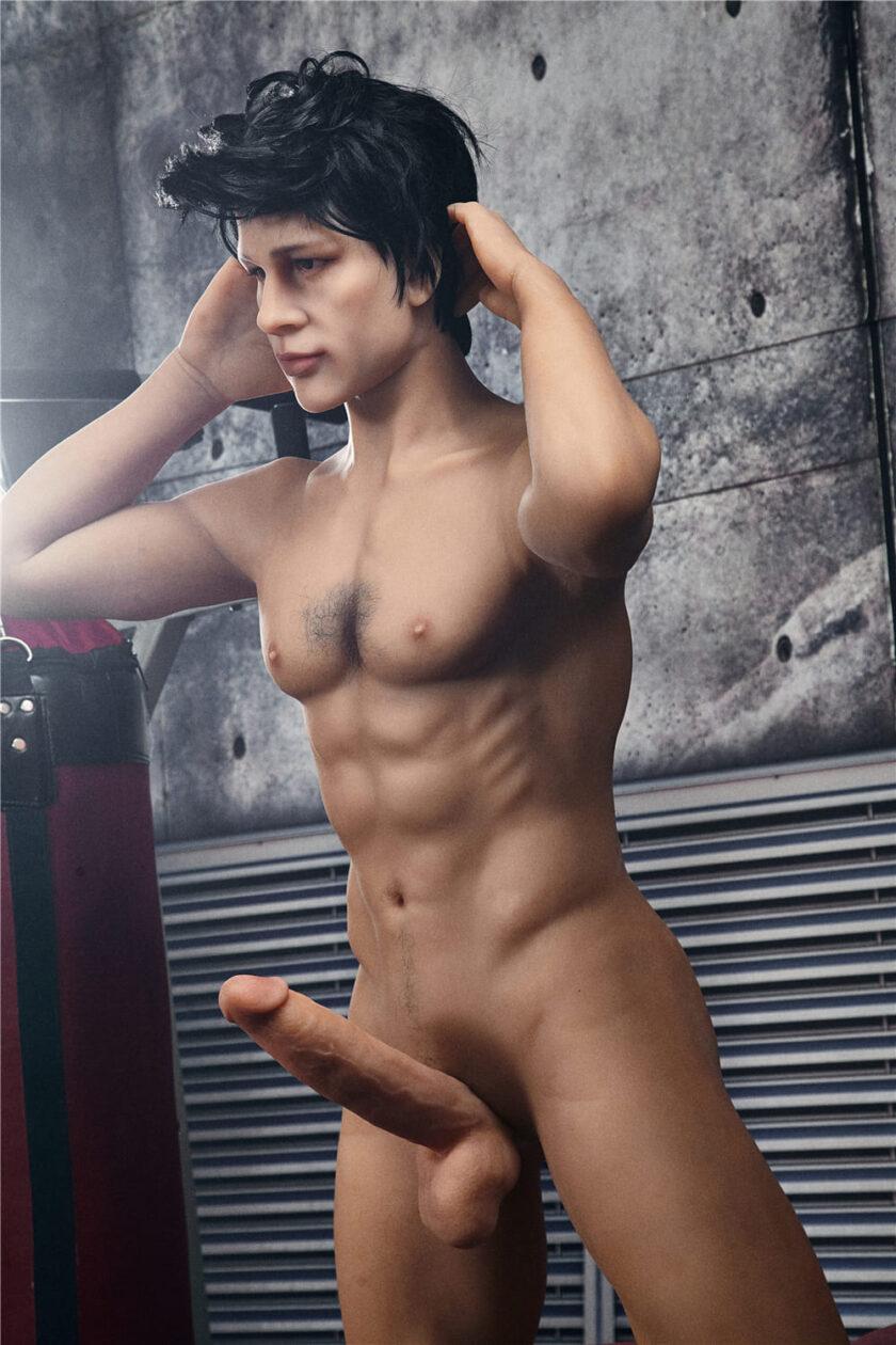 Секс кукла мужчина с большим пенисом