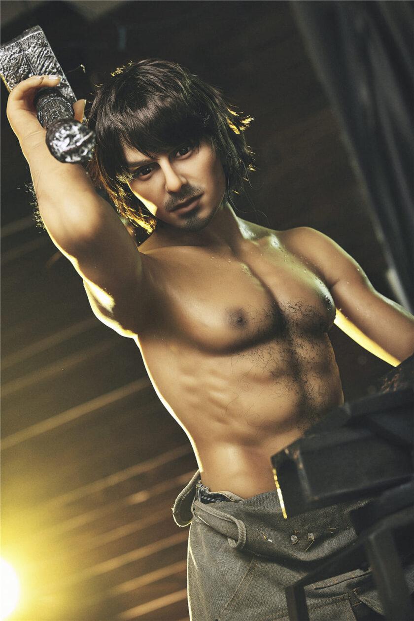 силиконовый мужчина секс кукла