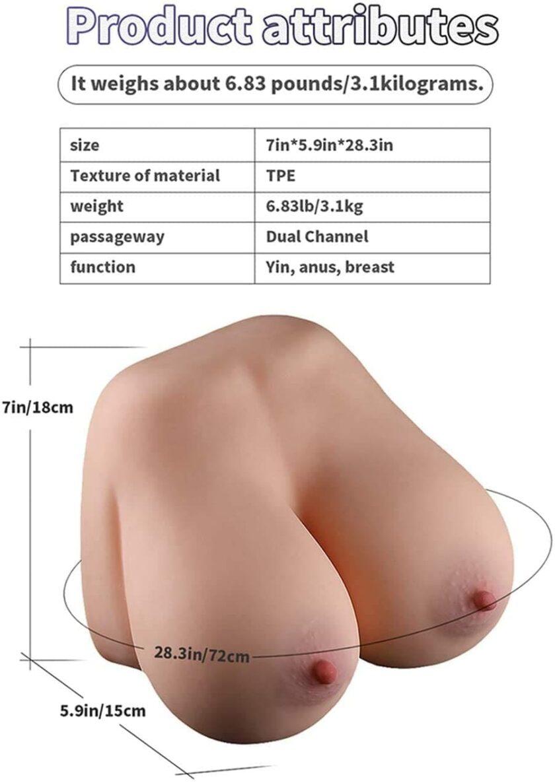 Резиновая грудь - секс игрушка для мужчин