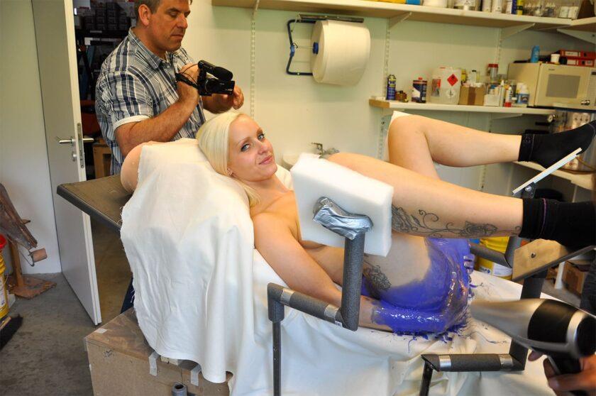 Мастурбатор 3Д вагина по слепку девушки
