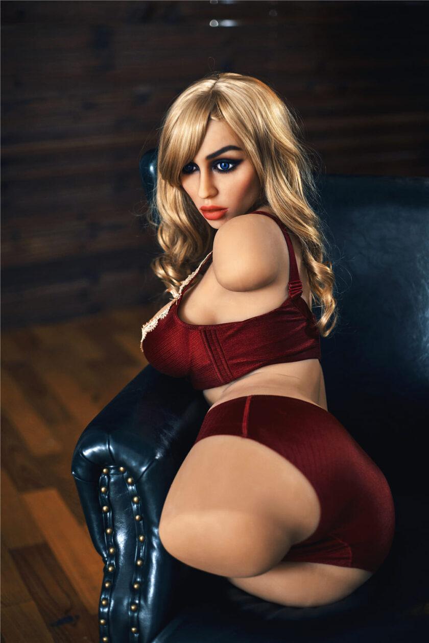 силиконовый торс куклы