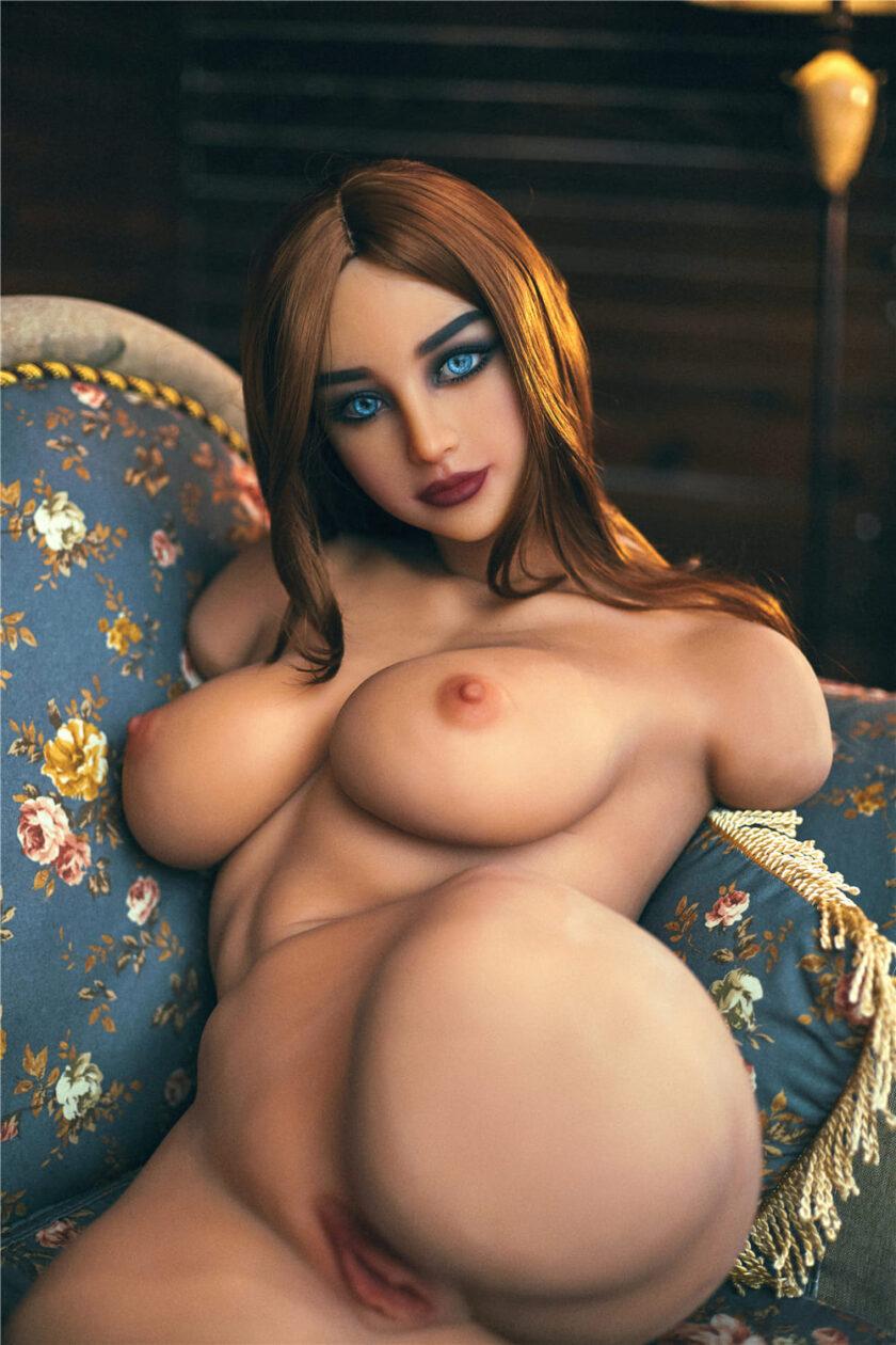Торс куклы с отверстиями для секса - вагинальным и анальным