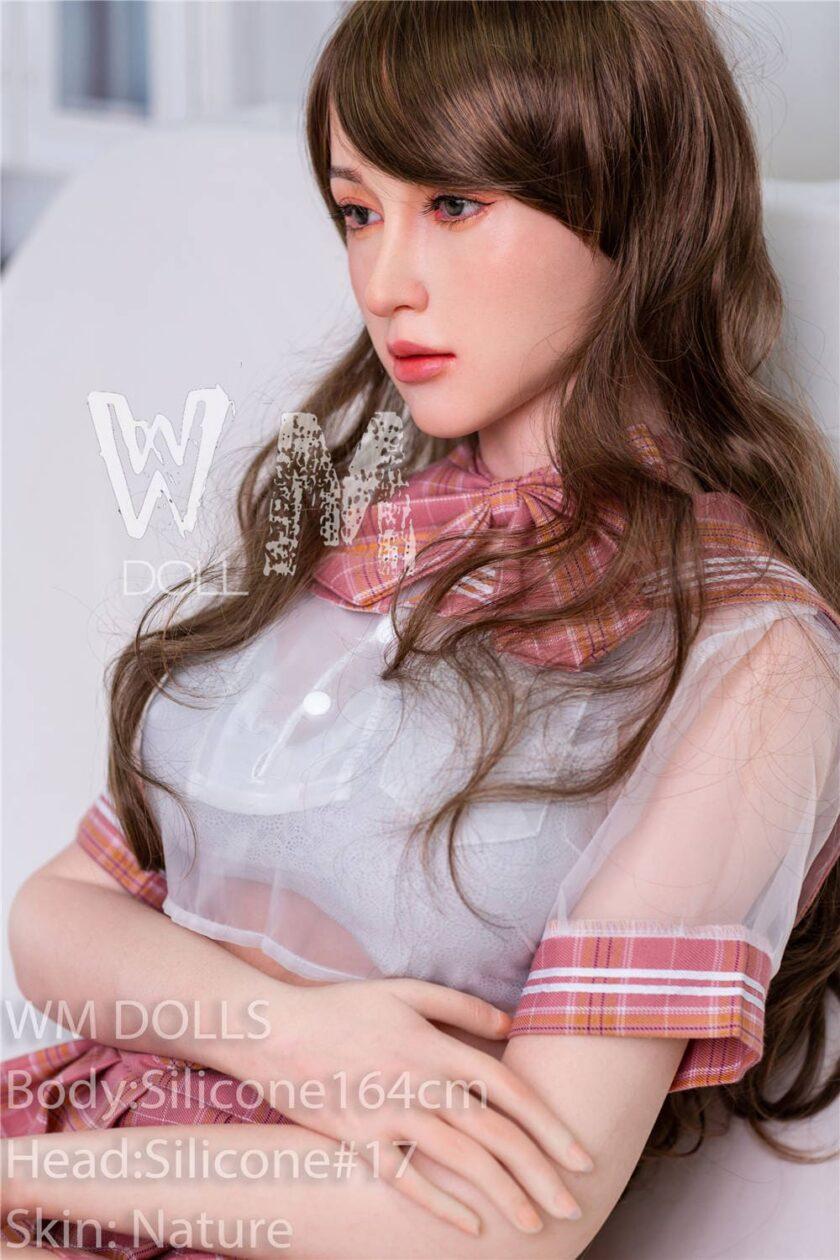 Секс-кукла силиконовая голова от WM DOLL